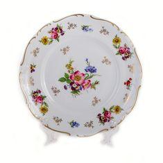 Набор фарфоровых тарелок 24 см, декор 2254, от Reichenbach на 6 персон