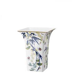 Фарфоровая ваза для цветов 24 см ТУРАНДОТ, белый цвет, от Rosenthal