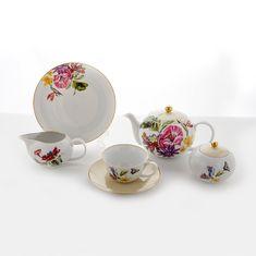Сервиз столово-чайный ПАРАДИЗ от Weimar Porzellan на 6 персон, 38 предметов