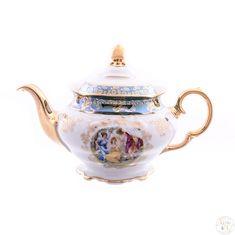 Чайник фарфоровый 800 мл ФРЕДЕРИКА МАДОННА, ЗЕЛЕНАЯ расцветка от Carlsbad