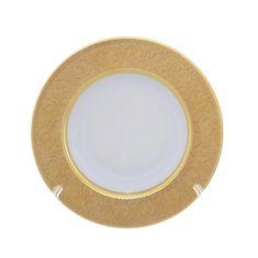 Набор глубоких тарелок 22 см DIAMOND FULL GOLD от Falkenporzellan, 6 шт.