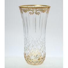 Хрустальная ваза для цветов TIMON