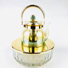 Стеклянный чайник заварочный с подставкой ДЕКОРАТИВНЫЙ КАМЕНЬ от Select