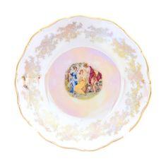 Набор розеток плоских 11 см ФРЕДЕРИКА МАДОННА ПЕРЛАМУТР от Carlsbad, 6 шт.
