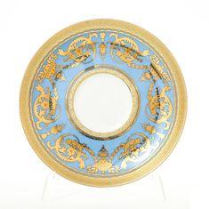 Набор фарфоровых блюдец IMPERIAL BLUE GOLD от Falkenporzellan