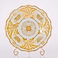 Тарелка Ютта 25 см СИМФОНИЯ ЗОЛОТАЯ от Weimar Porzellan, фарфор