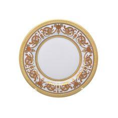 Набор тарелок 21 см IMPERIAL WHITE GOLD от Falkenporzellan, 6 шт.