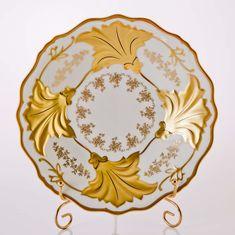 Блюдо Ютта круглое 31 см КАСТЭЛ от Weimar Porzellan, фарфор