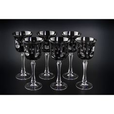 Хрустальный бокал для воды, коллекция СТАККАТО, от Cristallerie de Montbronn, серый цвет