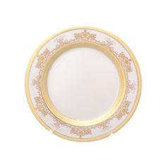 Набор тарелок 20 см CREME SAPHIR GOLD от Falkenporzellan на 6 персон