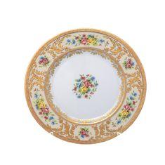 Набор тарелок 23 см VIENNA CREME GOLD от Falkenporzellan, 6 шт.
