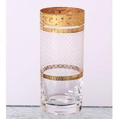 Стаканы для воды 300 мл МАХАРАДЖЕ КАРО от Crystalite Bohemia, 6 шт., стекло