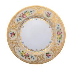 Набор тарелок 27.5 см VIENNA CREME GOLD от Falkenporzellan, фарфор, 6 шт.