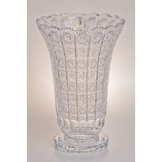 Хрустальная ваза для цветов 35 см ХРУСТАЛЬ 80838 от Glasspo
