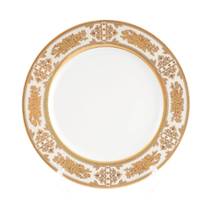 Набор фарфоровых тарелок 25 см ЛУИЗА, ЗОЛОТАЯ РОЗА от Thun 1794 a.s., 6 шт.