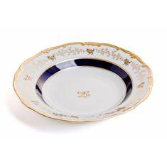 Набор глубоких тарелок 24 см АННА-АМАЛИЯ от Weimar Porzellan, фарфор, 6 шт.
