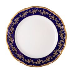 Набор фарфоровых тарелок 25 см МАРИЯ ТЕРЕЗА 2751 от Bavarian Porcelain, 6 шт.