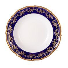 Набор фарфоровых глубоких тарелок 23 см МАРИЯ ТЕРЕЗА 2751 от Bavarian Porcelain, 6 шт.