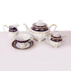 Сервиз чайный фарфоровый МАРИЯ ТЕРЕЗА 2751 от Bavarian Porcelain на 6 персон, 15 предметов