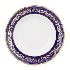 Набор глубоких тарелок 23 см ДЕКОР 2709 от Epiag, фарфор, 6 шт.