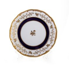 Набор фарфоровых тарелок 24 см АННА АМАЛИЯ от Weimar Porzellan, 6 шт.