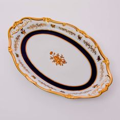 Блюдо фарфоровое овальное 36 см АННА АМАЛИЯ от Weimar Porzellan