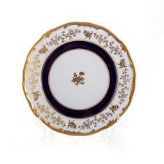 Набор фарфоровых тарелок 19 см АННА-АМАЛИЯ от Weimar Porzellan, 6 шт.