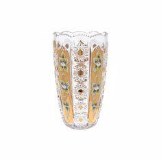 Хрустальная ваза 22 см для цветов от Crystal Heart