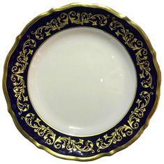 Набор фарфоровых тарелок 19 см ДЕКОР 2709 от Epiag, 6 шт.