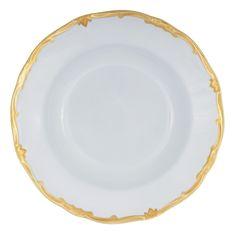 Набор глубоких тарелок 24 см ПРЕСТИЖ ГОЛУБОЙ от Weimar Porzellan, фарфор, 6 шт.