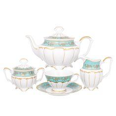 Сервиз фарфоровый чайный МАРИЯ ТЕРЕЗА 2757 от Bavarian Porcelain на 6 персон, 15 предметов