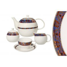 Чайный сервиз ТАМЕРЛАН от Akky на 6 персон, 15 предметов