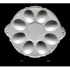 Поднос для яиц ПЛАТИНОВЫЙ УЗОР