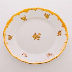 Набор тарелок РОЗА ЗОЛОТАЯ от Weimar Porzellan