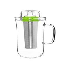 Кружка с заварочным фильтром me cup, 400 мл, зеленая от QDO