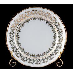Набор тарелок ЛИСТ БЕЛЫЙ от Bavarian Porcelain