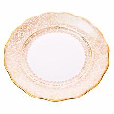 Набор тарелок ЛИСТ БЕЛЫЙ от Carlsbad